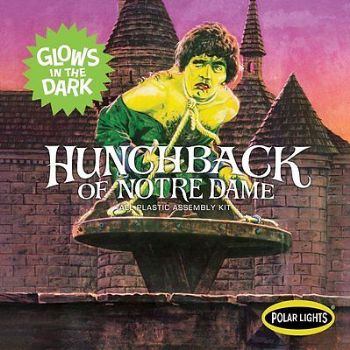 HUNCHBACK OF NOTRE DAME GLOW IN THE DARK MODEL KIT POLAR LIGHTS MISB